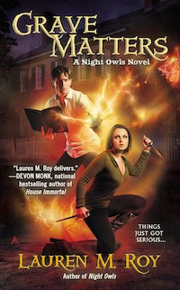Grave Matters by Lauren M. Roy book cover